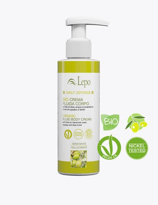 Crema Corporal fluida-oliva