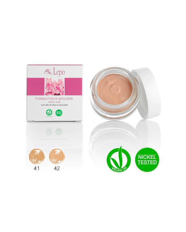 Maquillaje Mousse LEPO