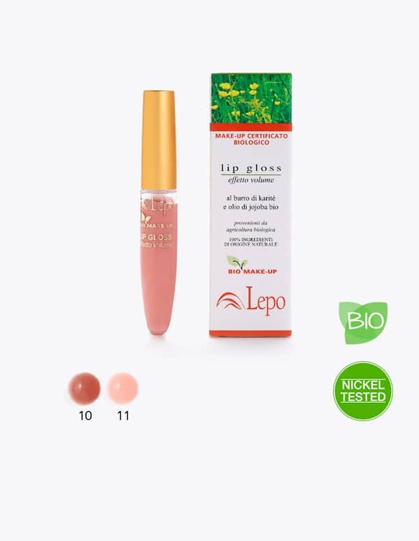 lipgloss voluminizante Bio LEPO
