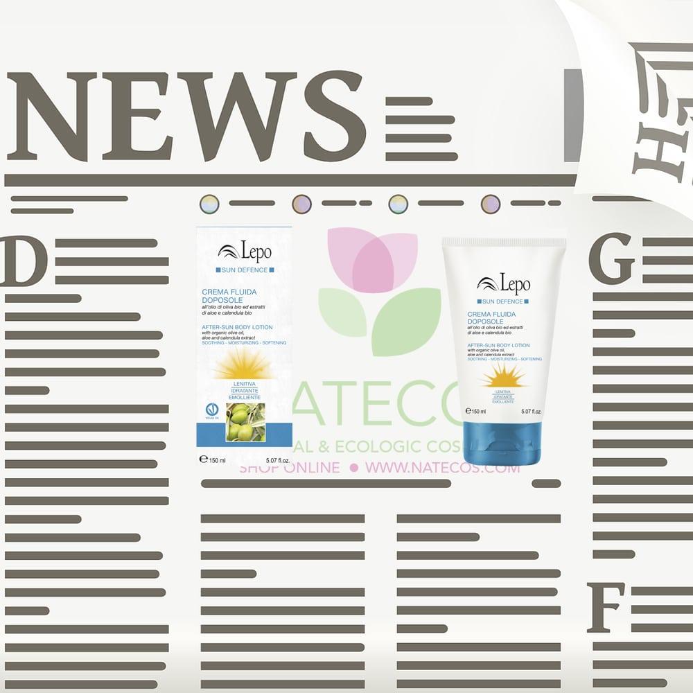 After sun al aceite de oliva, ¡la nueva propuesta de Lepo para este verano!