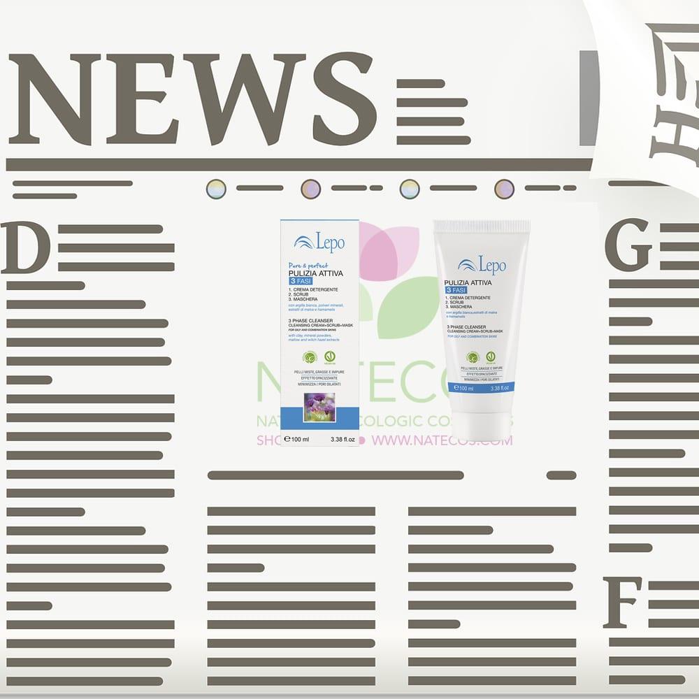 Limpiador facial vegano 3 en 1 de LEPO, ¡la mejor alternativa!