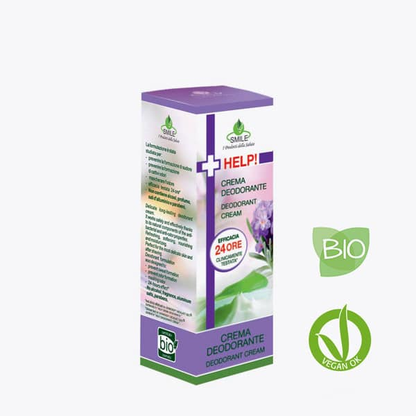SMILE BIO  Help! Crema desodorante BIO