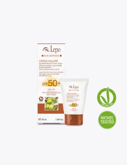 crema facial solar proteccion50 cara