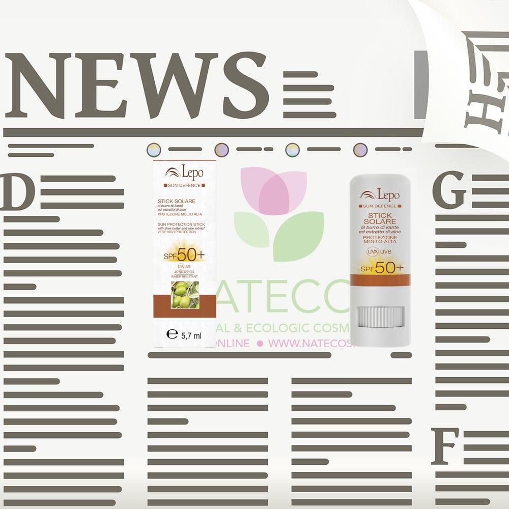 Factor de protección solar facial y corporal vegetal de Lepo