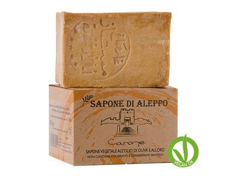 CARONE Jabón Aleppo 200 GR 16 % Aceite Laurel