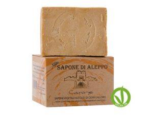 JABON ALEPPO 200 GR 32 % ACEITE LAUREL