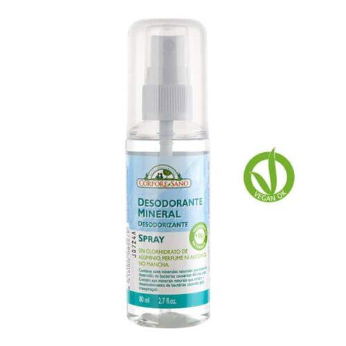 CORPORE SANO desodorante spray mineral