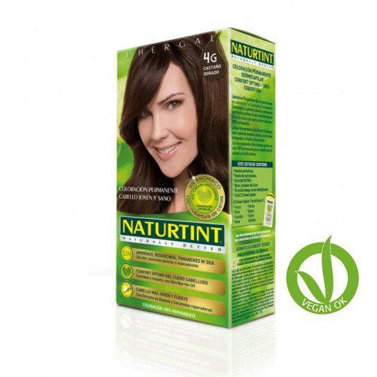 naturtint 4g castaño dorado