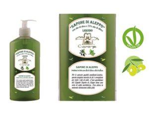 Jabón Aleppo líquido 400 ml