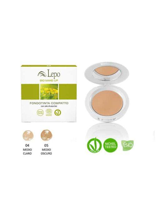 Maquillaje compacto bio