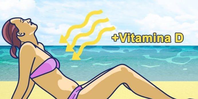 sol y vitamina d con la crema solar