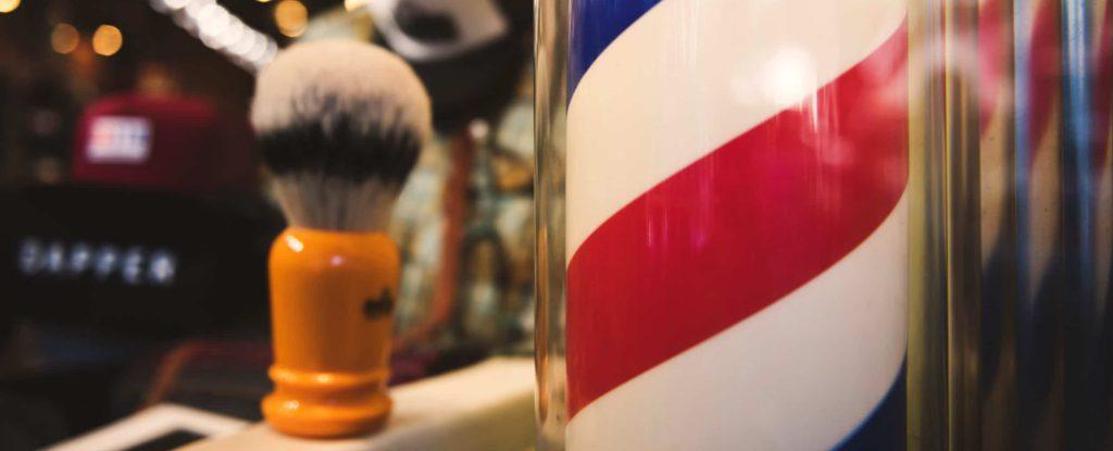 afeitado en barberia