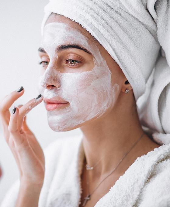 crema mascarilla facial