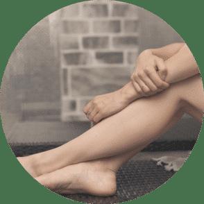 cosméticos para los pies y manos ecológicos