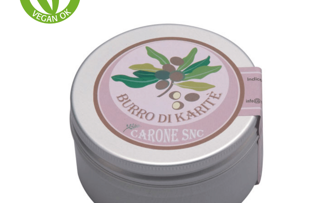 Mascarilla de manteca de karité al 100% para el cabello vegana de Carone