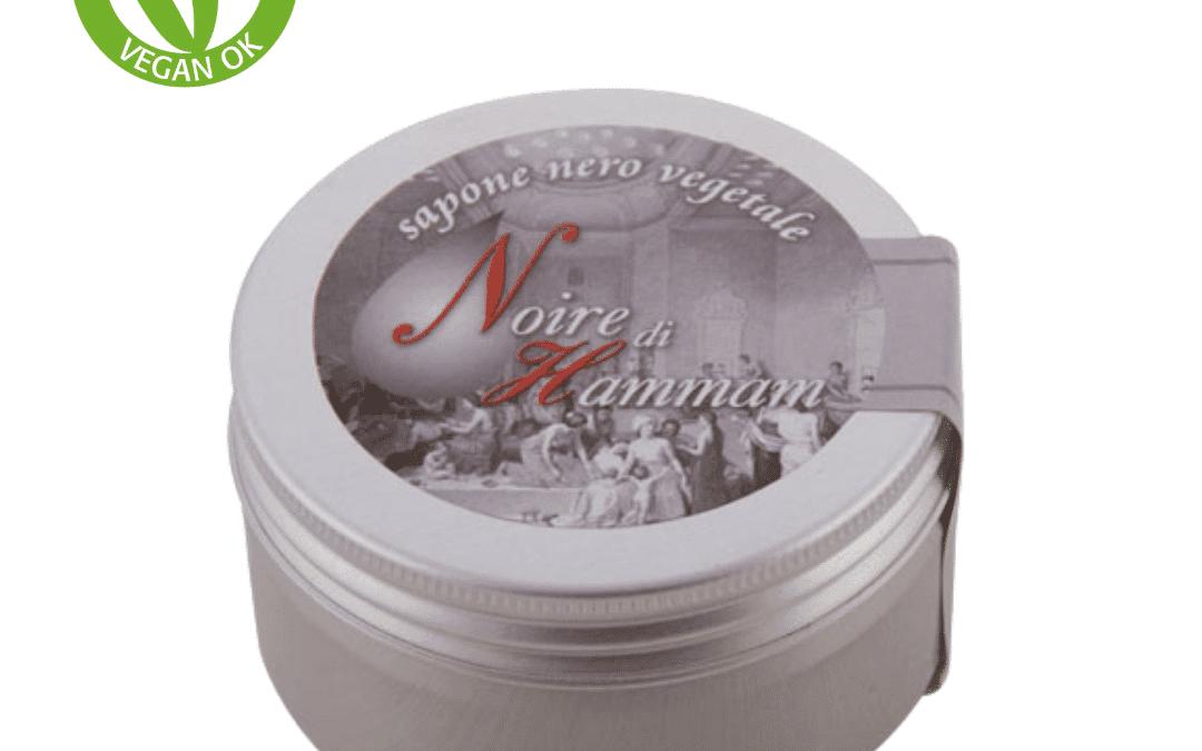 Exfoliante corporal vegano y natural   Jabón negro hamman de Carone